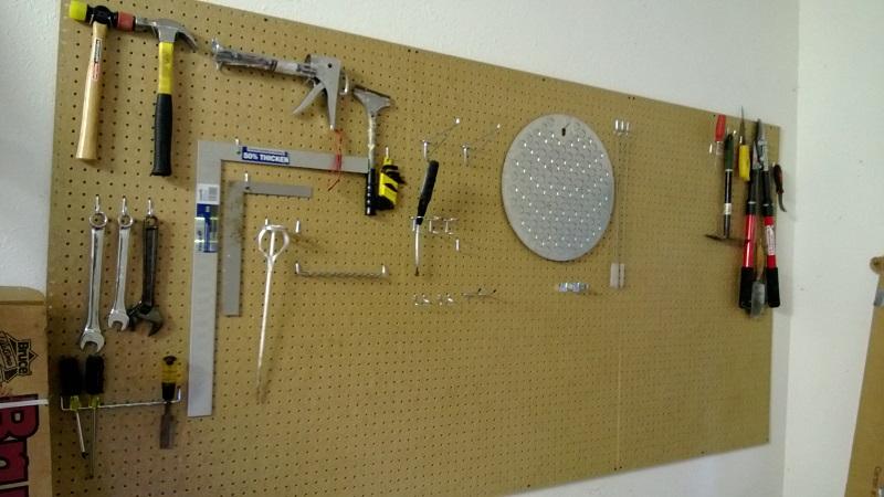 Proyecto cerveza de garaje - Tablero de herramientas ...