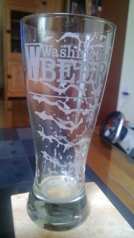 El vaso vacío.