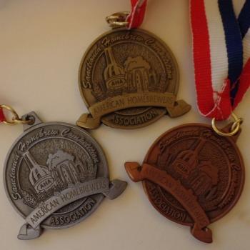 Oro, plata y bronce. ¡No ha estado nada mal!